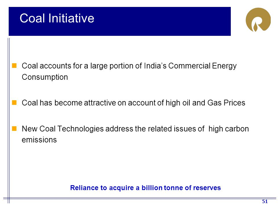 Reliance to acquire a billion tonne of reserves