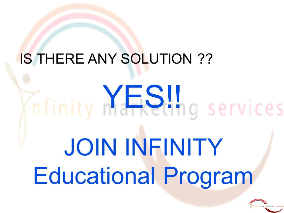 JOIN INFINITY Educational Program