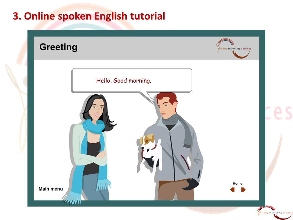 3. Online spoken English tutorial