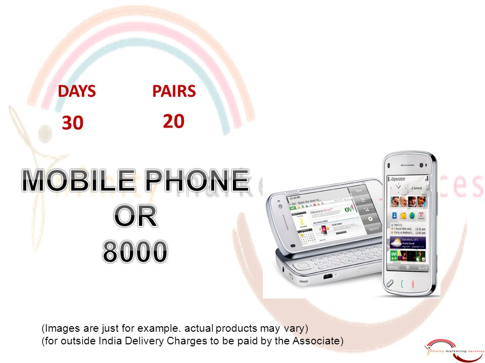 MOBILE PHONE OR 8000 30 20 DAYS PAIRS