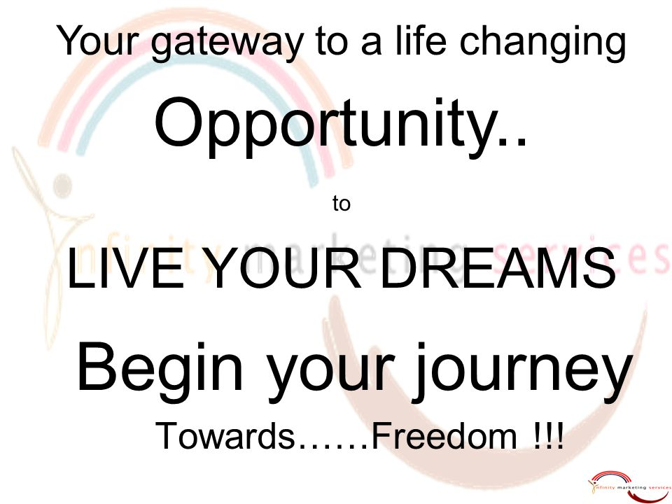 Your gateway to a life changing
