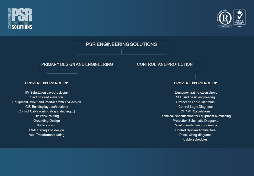 PSR ENGINEERING SOLUTIONS
