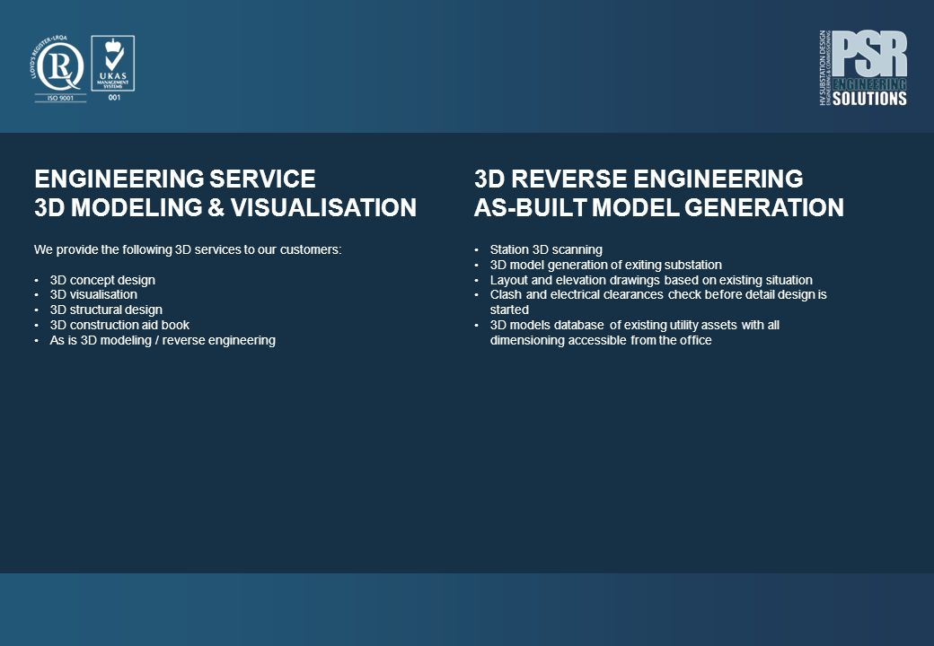 3D MODELING & VISUALISATION 3D REVERSE ENGINEERING