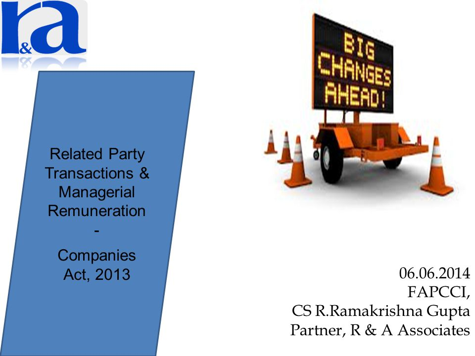 Related Party Transactions & Managerial Remuneration -