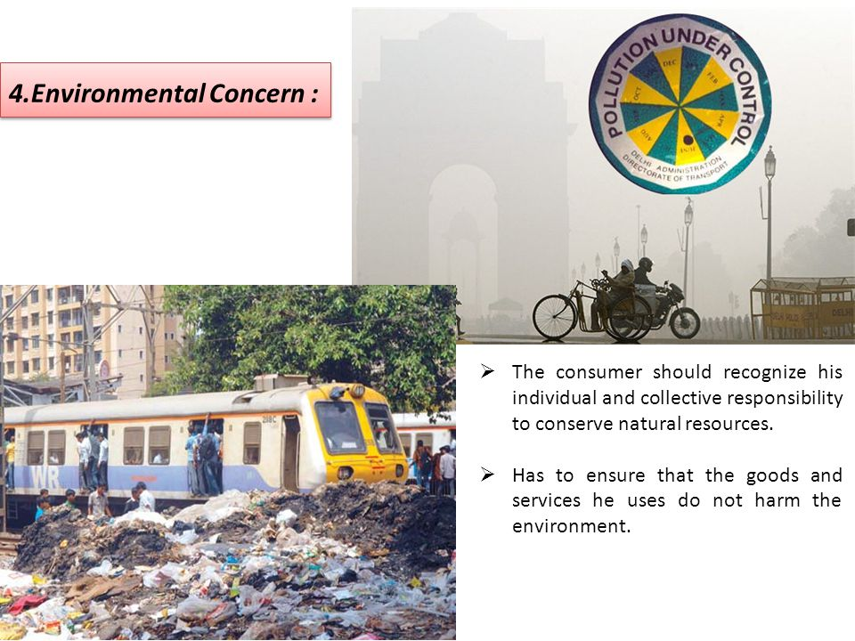 4.Environmental Concern :