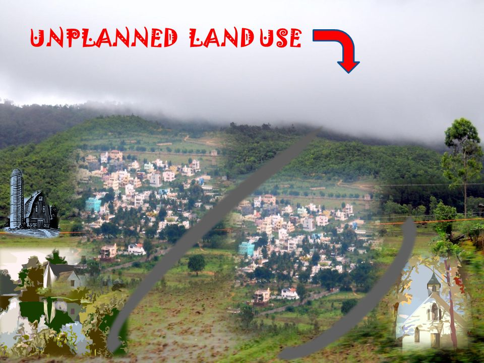 UNPLANNED LAND USE