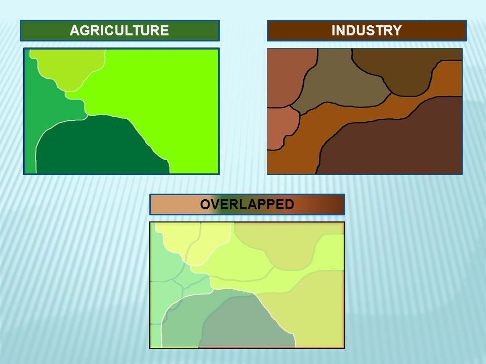 AGRICULTURE INDUSTRY OVERLAPPED