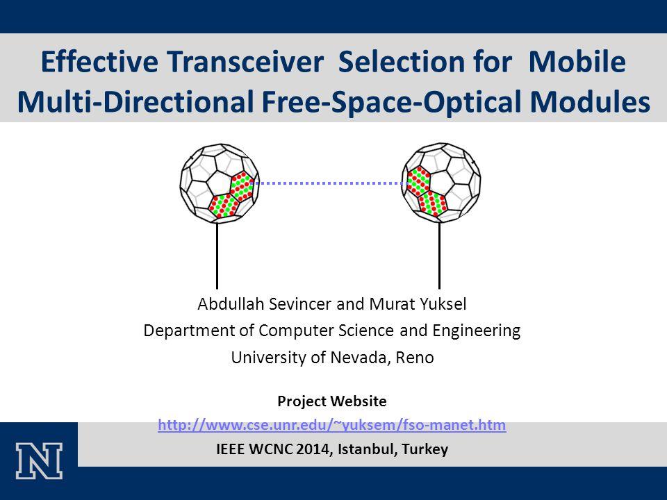 IEEE WCNC 2014, Istanbul, Turkey