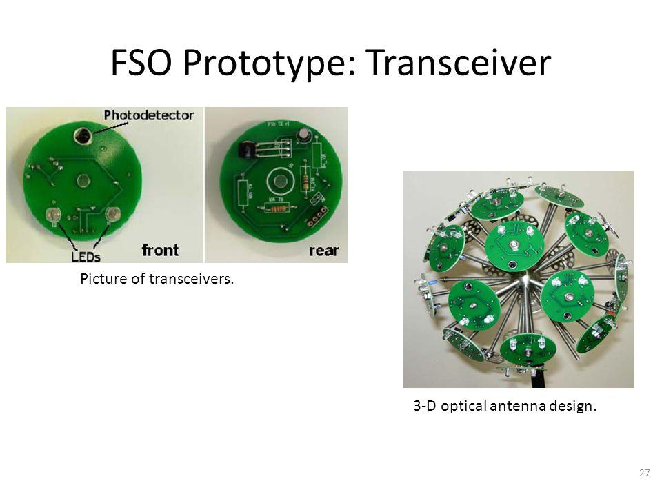FSO Prototype: Transceiver