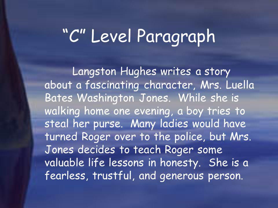 C Level Paragraph