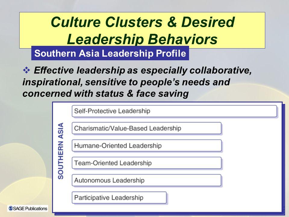 Culture Clusters & Desired Leadership Behaviors