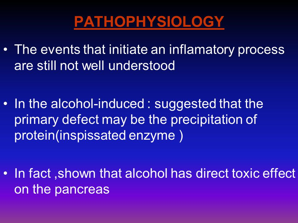 PATHOPHYSIOLOGY The events that initiate an inflamatory process are still not well understood.