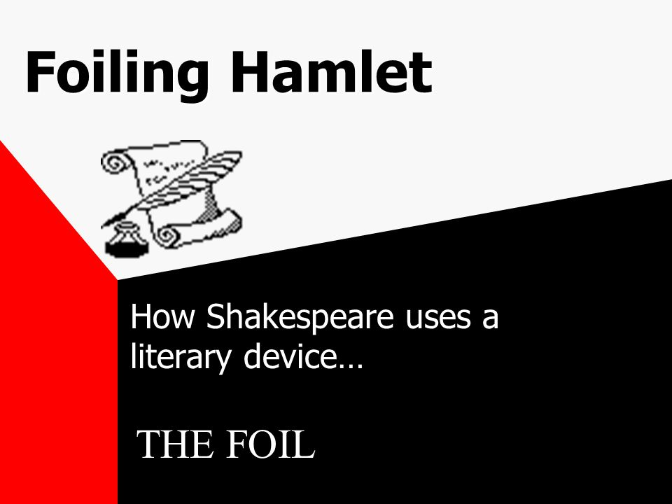 How Shakespeare uses a literary device…
