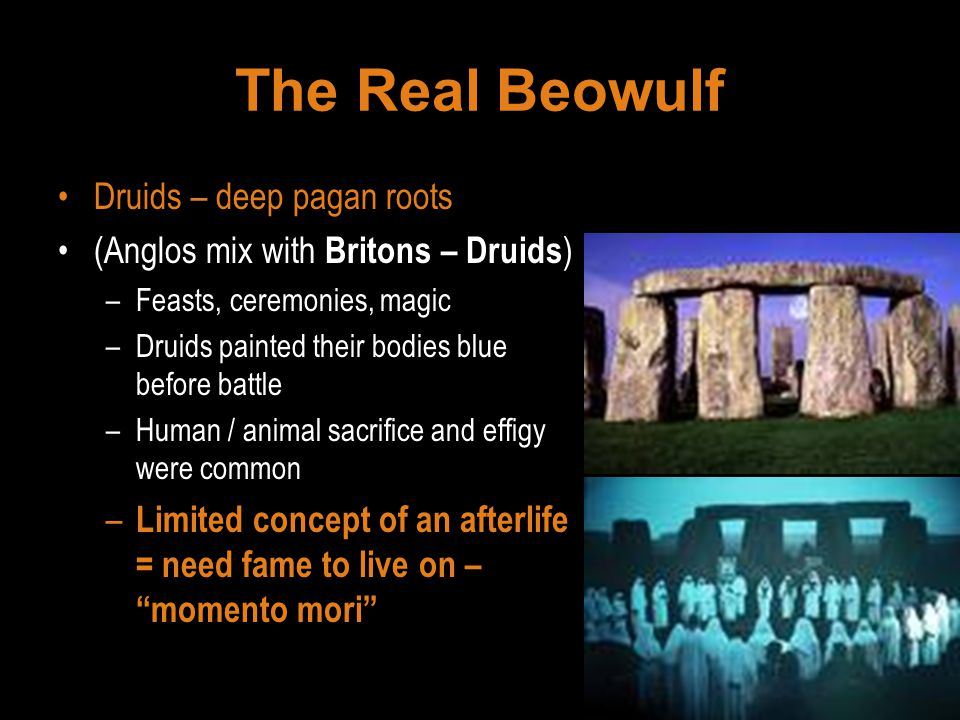 The Real Beowulf Druids – deep pagan roots