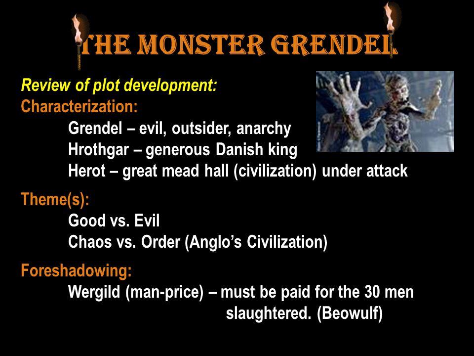 The Monster Grendel Review of plot development: Characterization: