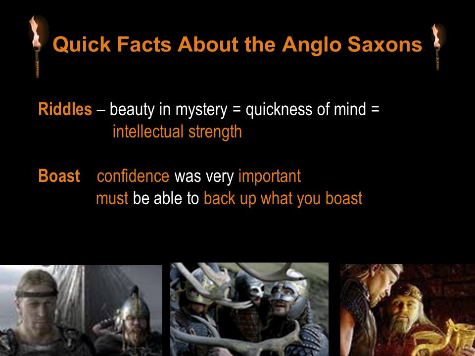 Quick Facts About the Anglo Saxons