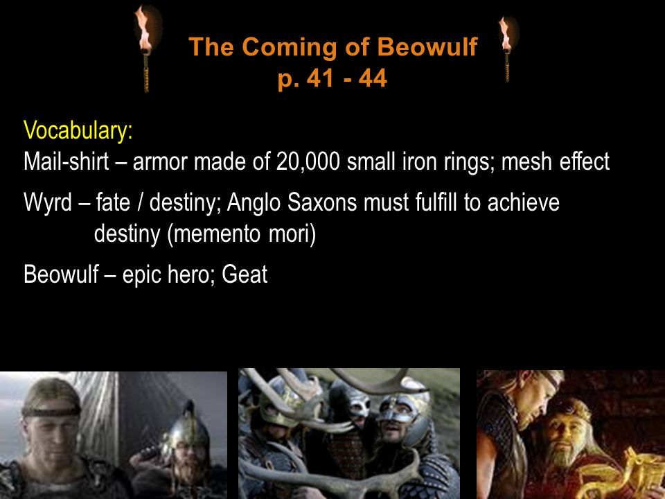 The Coming of Beowulf p. 41 - 44