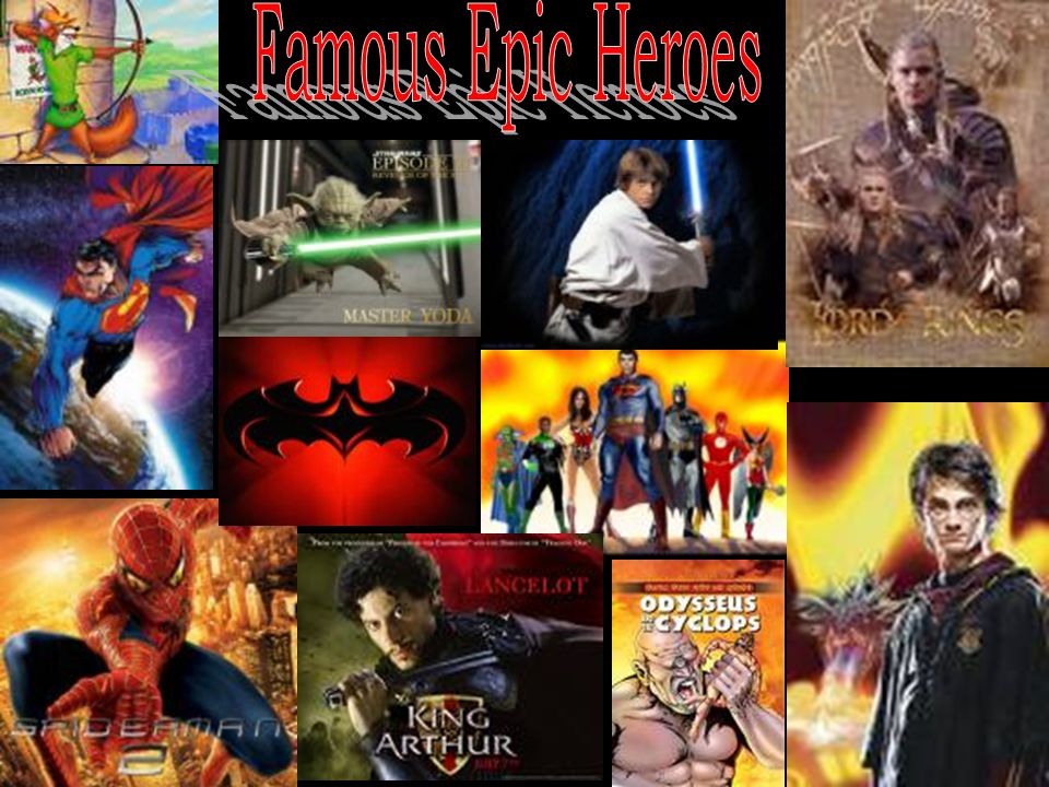 Famous Epic Heroes