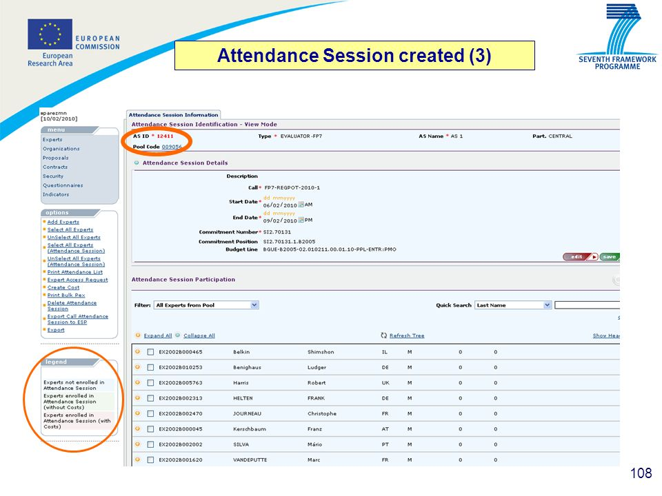 Attendance Session created (3)