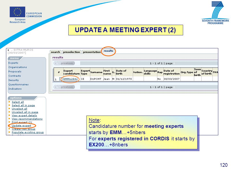 UPDATE A MEETING EXPERT (2)