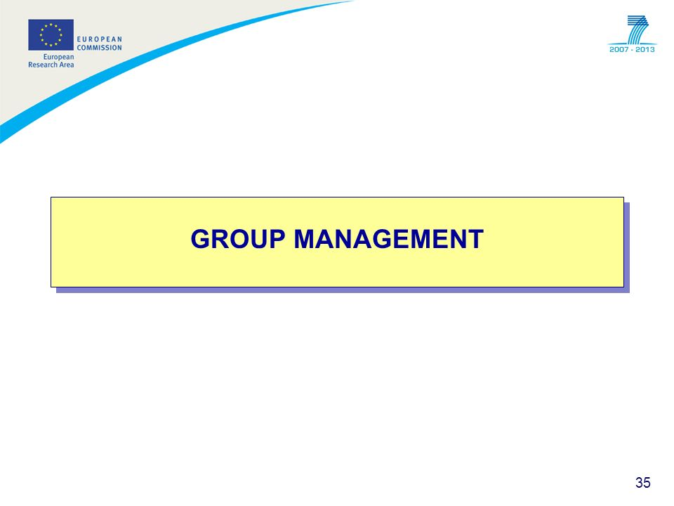 GROUP MANAGEMENT