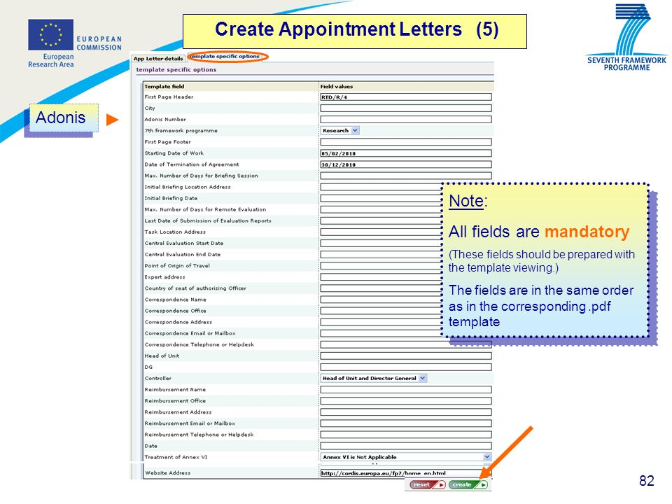 Create Appointment Letters (5)