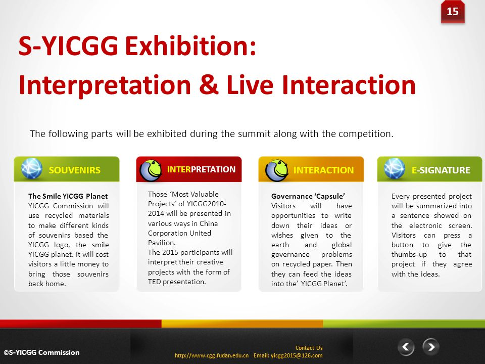Interpretation & Live Interaction