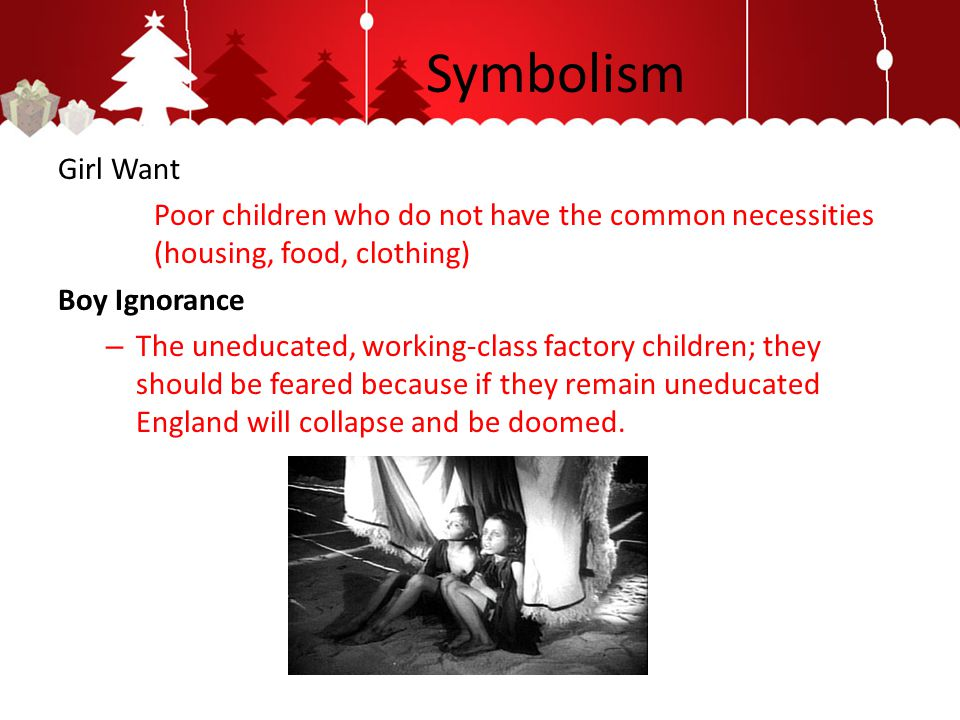 Symbolism Girl Want. Poor children who do not have the common necessities (housing, food, clothing)