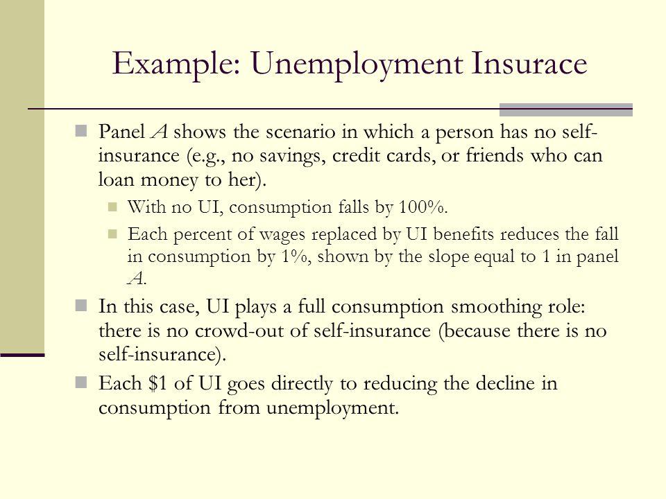 Example: Unemployment Insurace