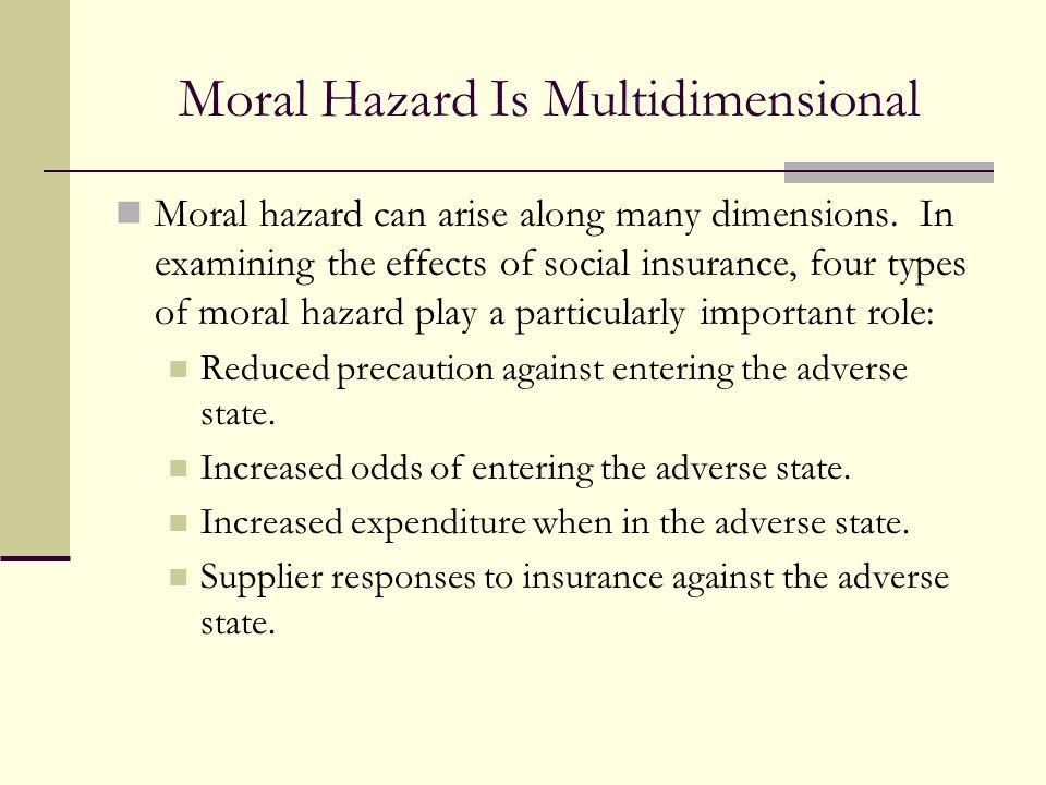 Moral Hazard Is Multidimensional