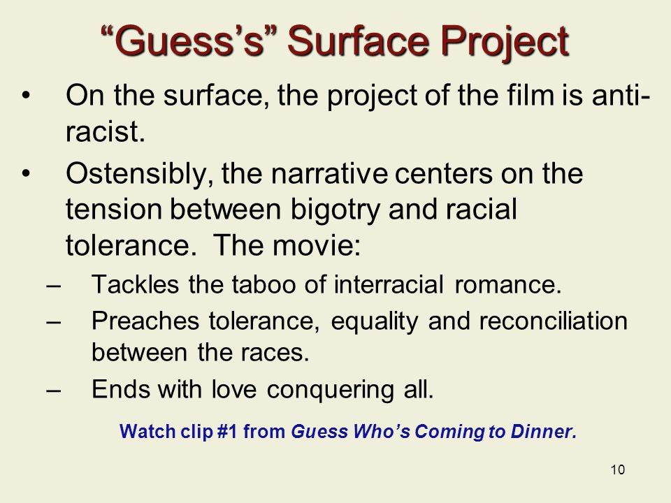 Guess's Surface Project