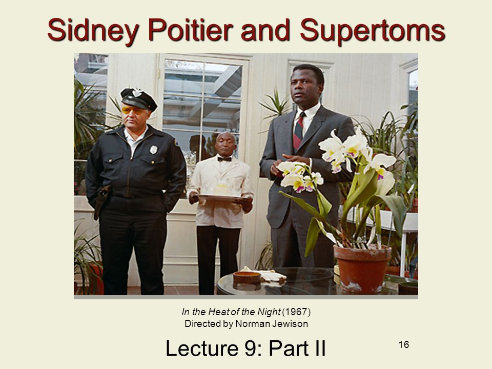 Sidney Poitier and Supertoms