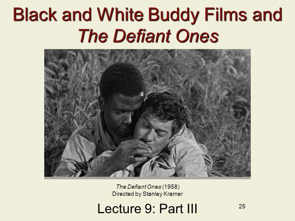 Black and White Buddy Films and The Defiant Ones