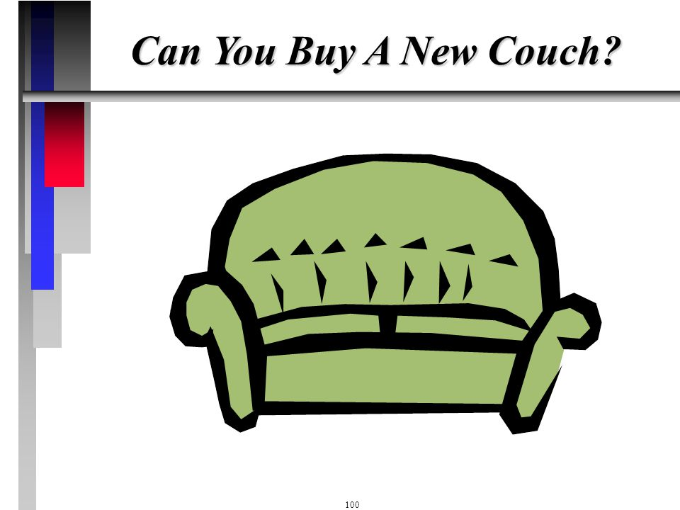 Can You Buy A New Couch