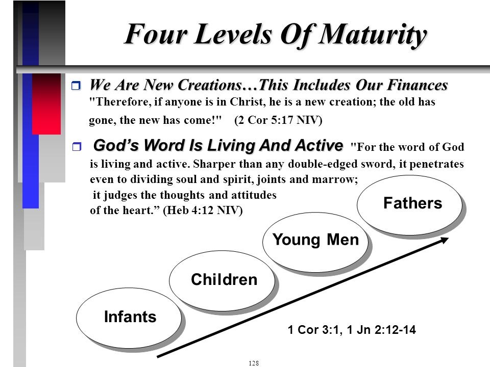 Four Levels Of Maturity