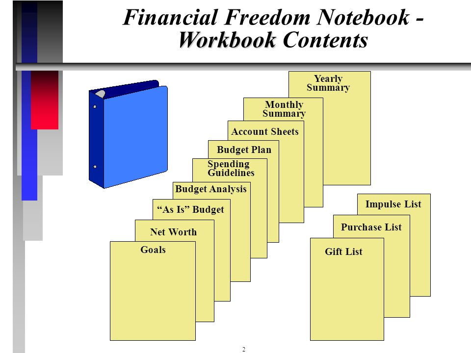 Financial Freedom Notebook -