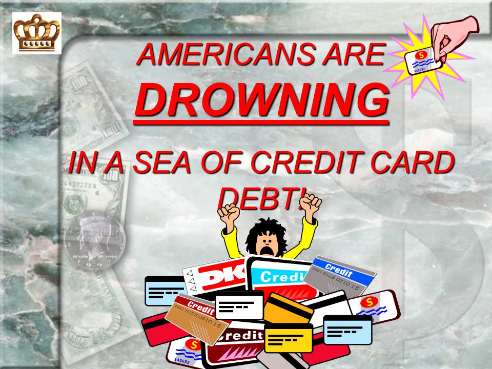 AMERICANS ARE DROWNING
