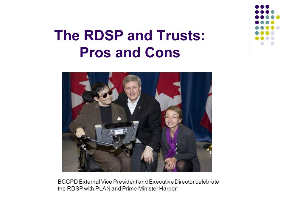 The RDSP and Trusts: Pros and Cons