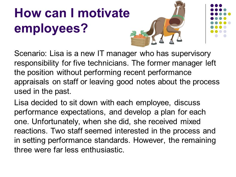 How can I motivate employees