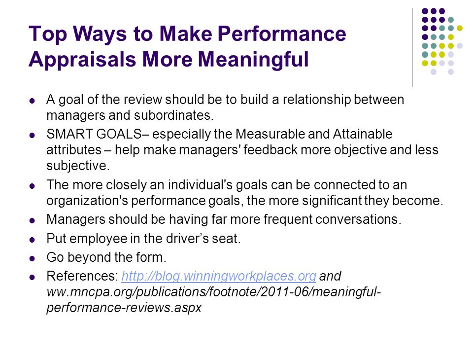 Top Ways to Make Performance Appraisals More Meaningful