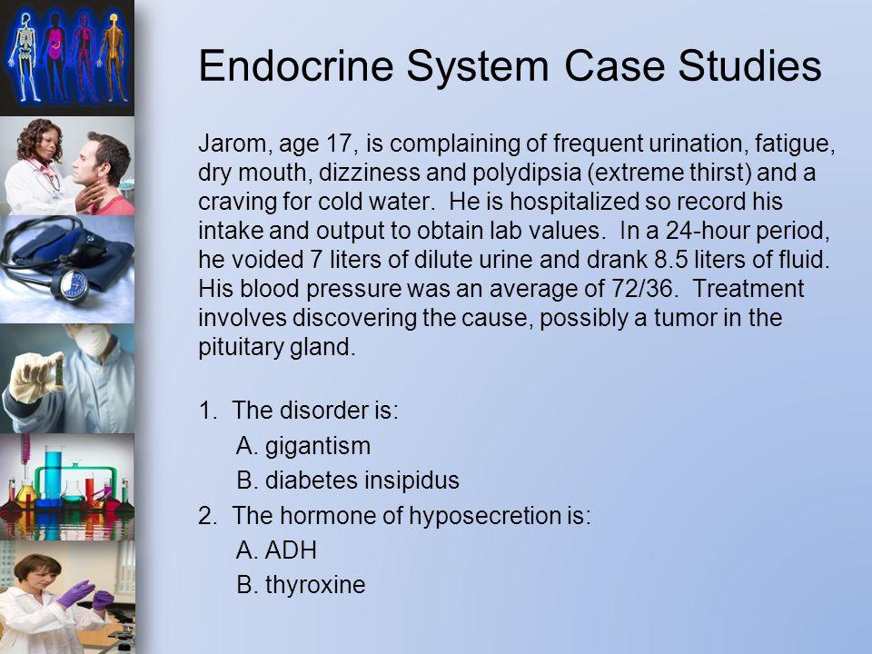 Endocrine System Case Studies
