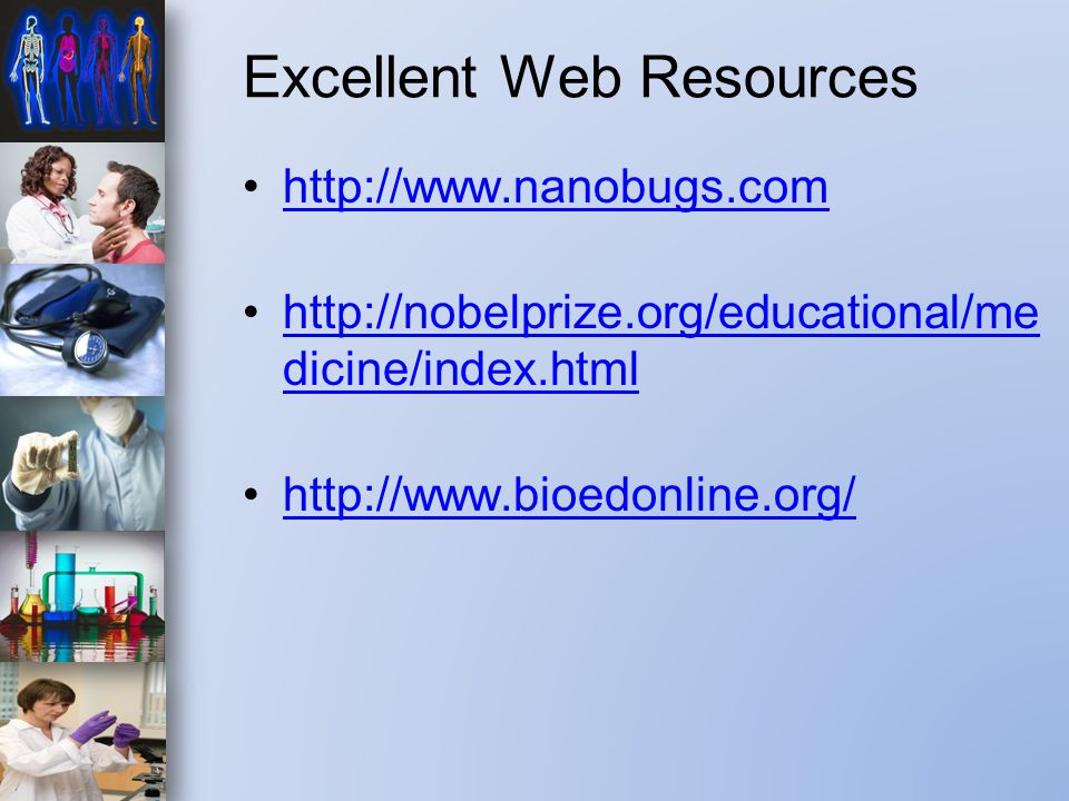 Excellent Web Resources