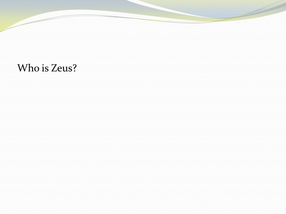 Who is Zeus