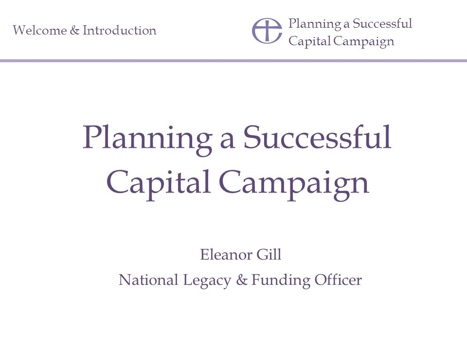 Planning a Successful Capital Campaign