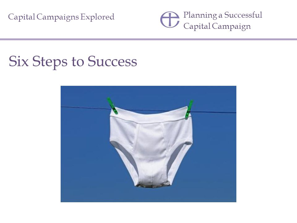 Six Steps to Success Planning a Successful Capital Campaign
