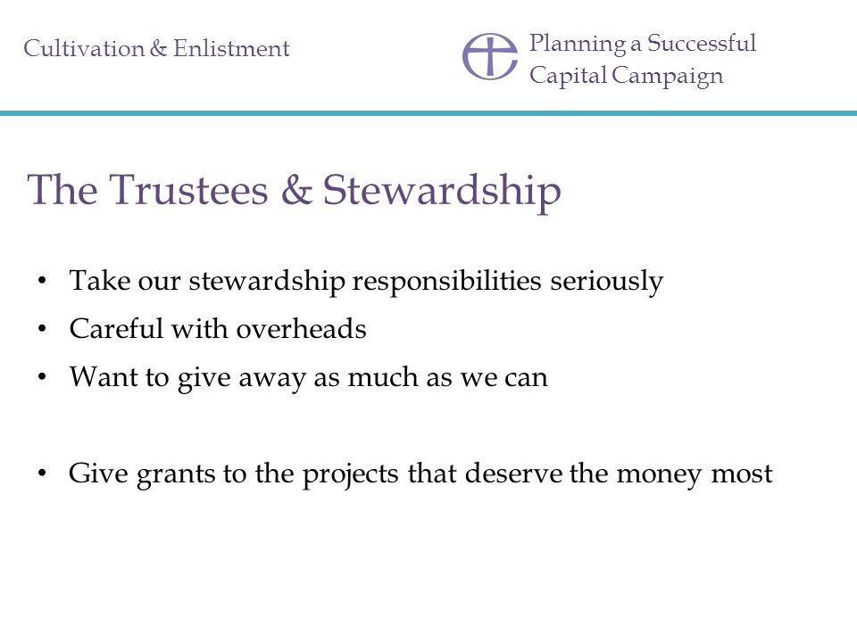 The Trustees & Stewardship