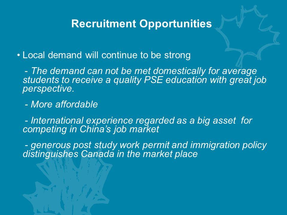 Recruitment Opportunities