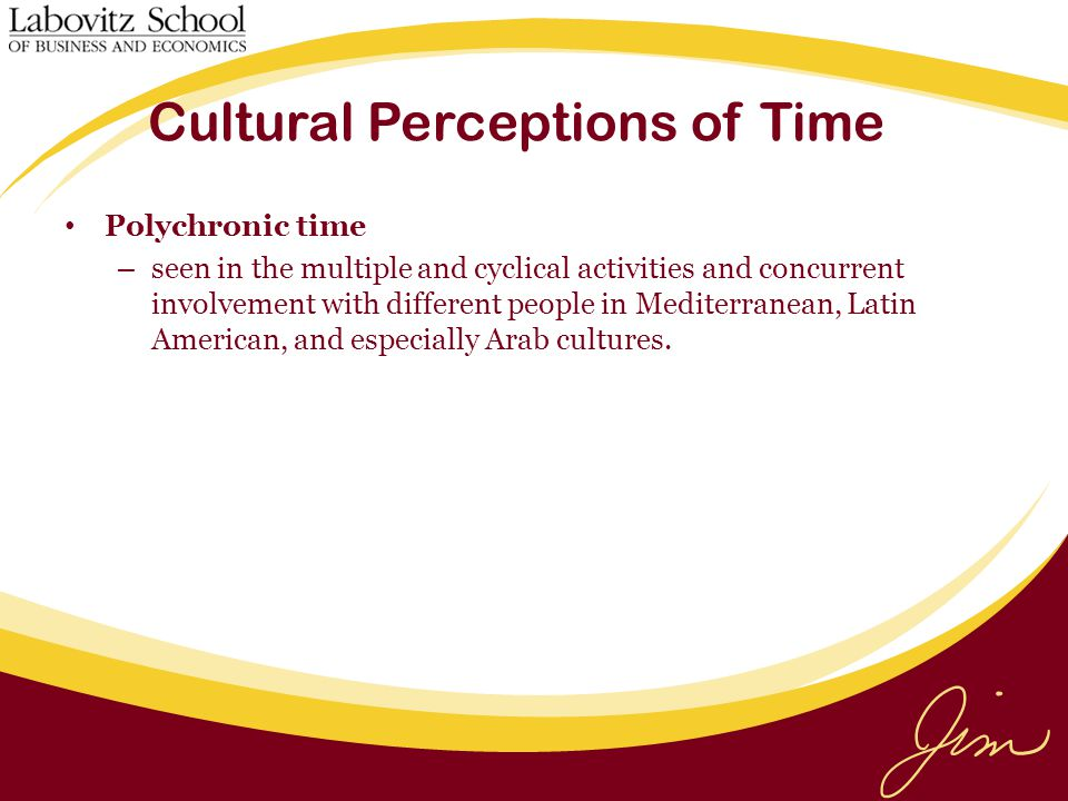 Cultural Perceptions of Time