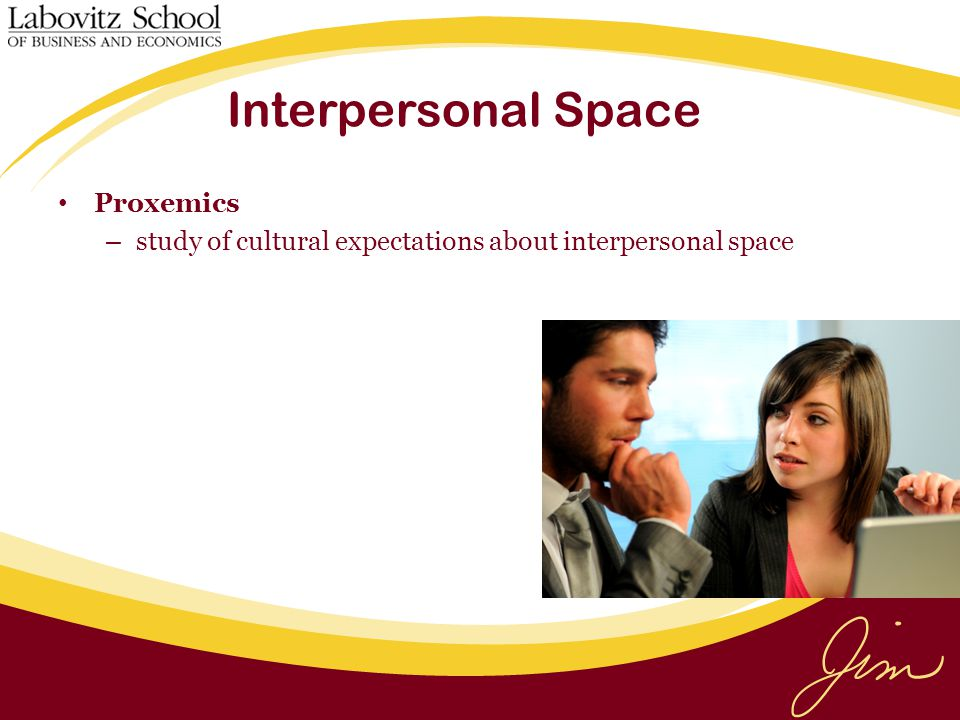 Interpersonal Space Proxemics