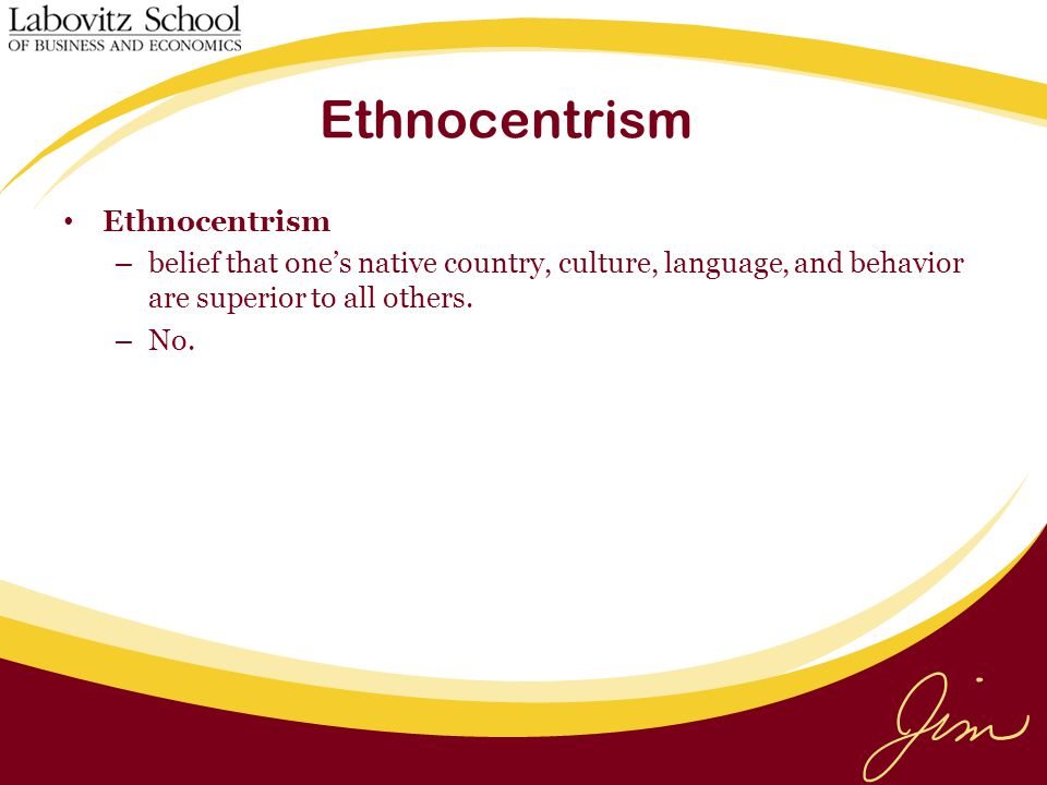 """ethnocentrism culture and united states Refugees from diverse backgrounds being resettled in the us using a  one  such """"cultural attitude""""is ethnocentrism, which can be described as people's."""